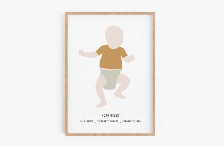 Birth portrait