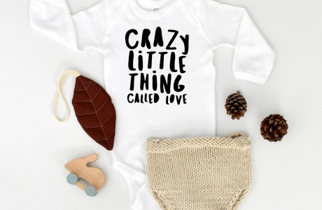 crazy little thing | long sleeve bodysuit