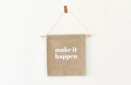 דגלון | Make it happen